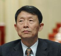 Cell for Chinese top official of bribery