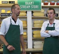 Cheese store opens 'first stream store'