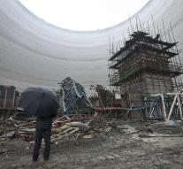 China arrests nine people for construction accident