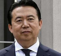 China confirms: missing Interpol boss picked up for interrogation