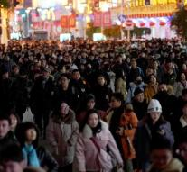 Chinese population finally declined