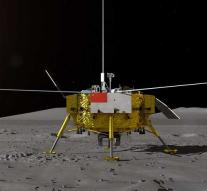 Chinese probe landed on back of the moon