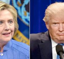 Clinton and Trump neck-and-neck