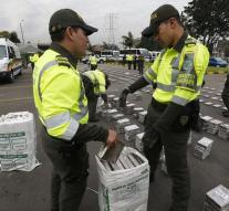 Colombia intercepted record amount of coke