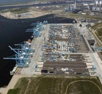 Container terminals Rotterdam hacked