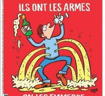 Cover Charlie Hebdo : ' We have the champagne ' !