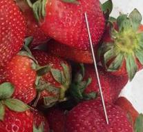 Crisis strawberries with needles skip: elsewhere copycat behavior