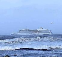 Cruise ship in distress off coast of Norway