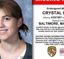 Crystal reappears 20 years after disappearance