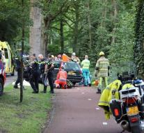 Dead and injured by accident Naarden