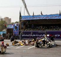 Dead and wounded by attack at parade Iran