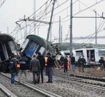 Dead and wounded by train accident Milan