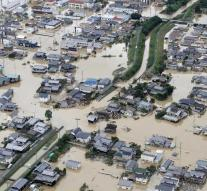 Deadly extreme rainfall Japan continues to rise