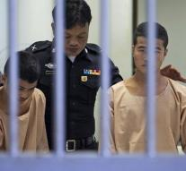 Death Sentences in Thai tourist murder case