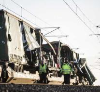 Death train accident Denmark to eight