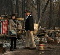 Deaths from California burns, 1276 missing