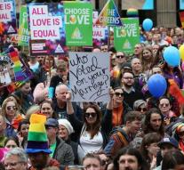 Demonstration for Gay Marriage Australia