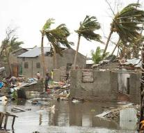 Devastating cyclone hits Africa hard