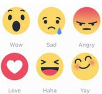 Dislike button lets users select emoji