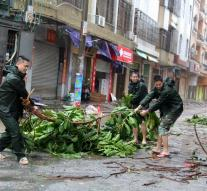 China typhoon death toll to 19