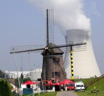 Doel 1 nuclear reactor generates power back on