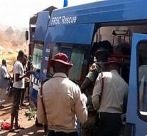 Dozens of deaths by collision buses Nigeria
