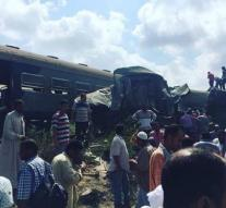 Dozens of deaths by train crash Egypt