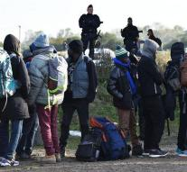 Dozens of migrants currently in Calais