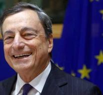 Draghi talks euro above $ 1.25