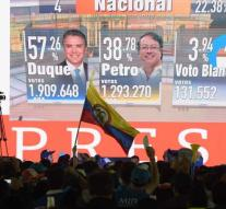 Duque wins Colombia's presidential election