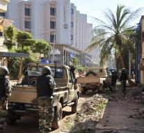 Dutchman in Mali : Explosions and shots