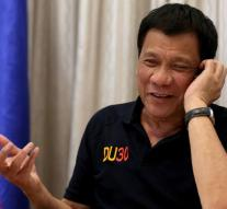 Duterte feels supported by Trump