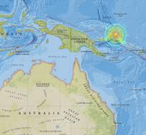 Earthquake hits Papua New Guinea