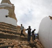 Earthquake survivors died of cold