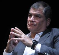 Ecuador continues ex-president for kidnapping