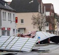 Eight dead by storm in Germany