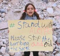 Eight-year-old girl from Aleppo on Time list
