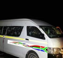 Eleven people killed in robbery on taxi bus