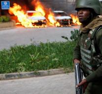 Employees hotel Nairobi still stuck after attack