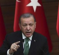Erdogan continues to quarrel with US