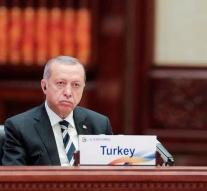 'Erdogan let down on protesters'