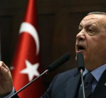 Erdogan says the United States is on guard