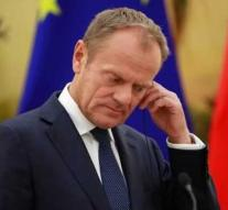 EU president Tusk wants extra summit about brexit