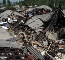 Evacuations caused by earthquake in Central Java