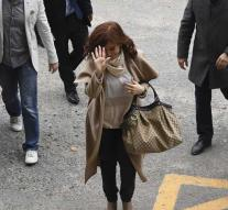 Ex-president Argentina sued for corruption