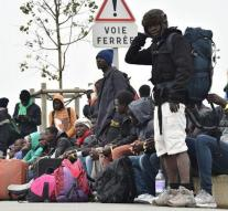 Exodus Calais Tuesday and Wednesday further