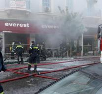 Explosion in Athens snack: one dead