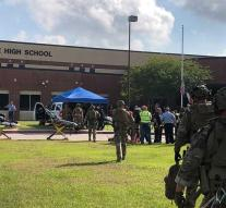 Explosives discovered after shooting school VS
