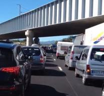 Extreme delays at Spanish-French border
