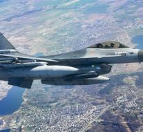 F-16's again to IS area